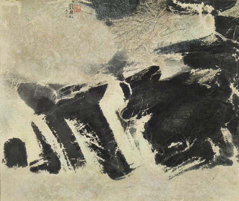 Image file: '2013.09_Liu Guosong Untitled (Spring Beneath Snow)_JWells_March 2014'