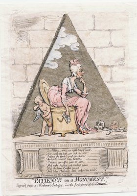 Image file: 'Gillray_Patience on a Monument_lwlpr07225_m'