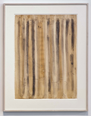 Image file: 'Cosmogram II, 1976; powdered graphite, pencil, coffee; 30x22.jpg'