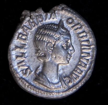 Ob: SALL(ustia) BARBIA ORBIANA AVG(usta) | Re: CONCORDI-A AVGG(ustorum) [Concord of the Emperors]