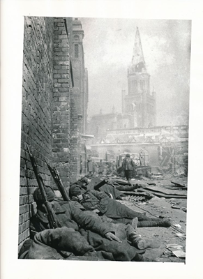 Image file: 'After the Attack on Koningsberg (now Kalingrad) 4 9 1944.jpg'